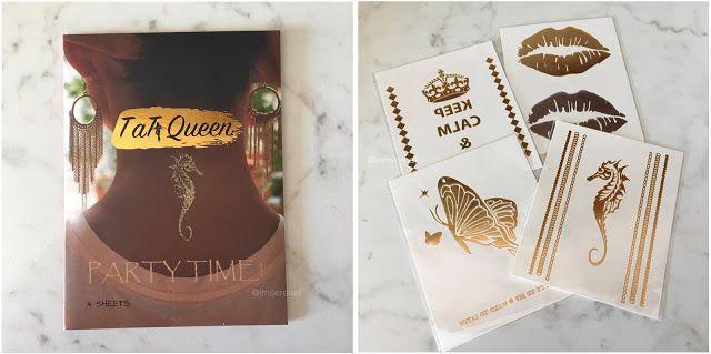 Review • Tatuaggi Temporanei Tat Queen - I Am Serena