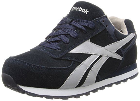 Reebok Women's Leelap RB195 Work Shoe,Blue Oxford,7.5 M US