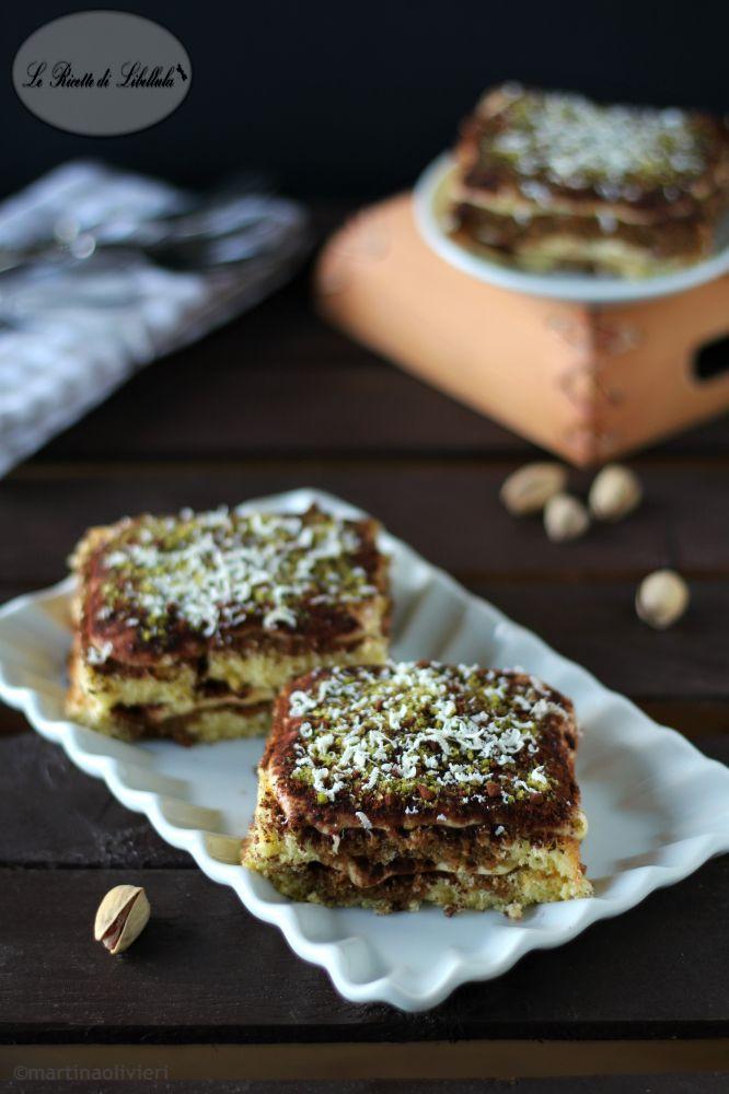 tortine al tiramisù di pistacchio