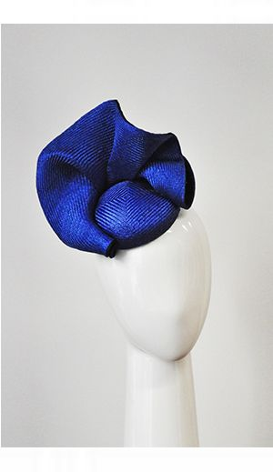 Spring Racing Fashion: Suzy O'Rourke Millinery - Ruffle Beret