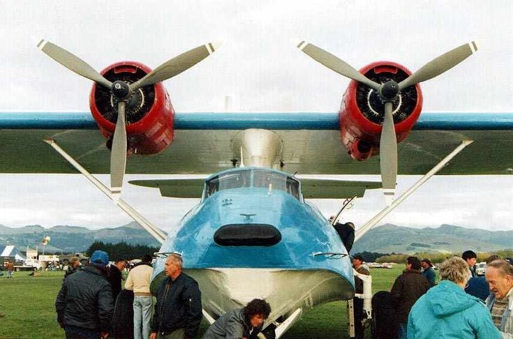 """US navy first ordered the Consolidated Catalina in 1933, and it first flew in 1935, soon setting flying boat distance records.   It was the British who named it """"Catalina"""" and American forces later adopted the name as well.   The British were the first to use it in action, and it was a Catalina which found the German battleship Bismarck."""