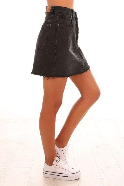 Riot Skirt Zephyr Black