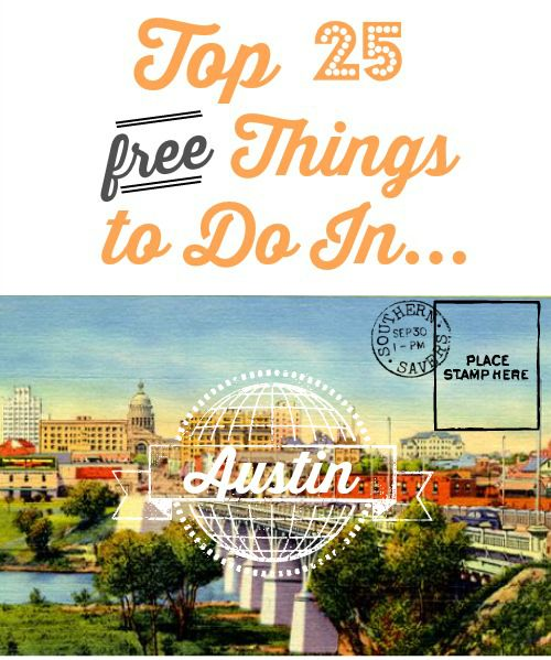 Lots of free things to do when you're in Austin, TX! Forget paying money when you can find richer experiences in the free museums, sights and art of the city.