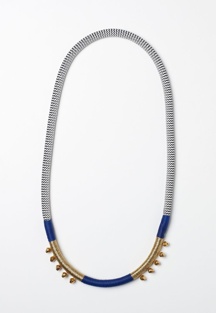 PICHULIK Royal Bluebell handcrafted African statement jewellery at Modern…