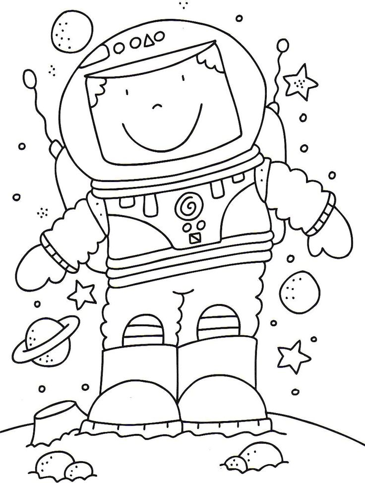 astronaut coloring pages Google