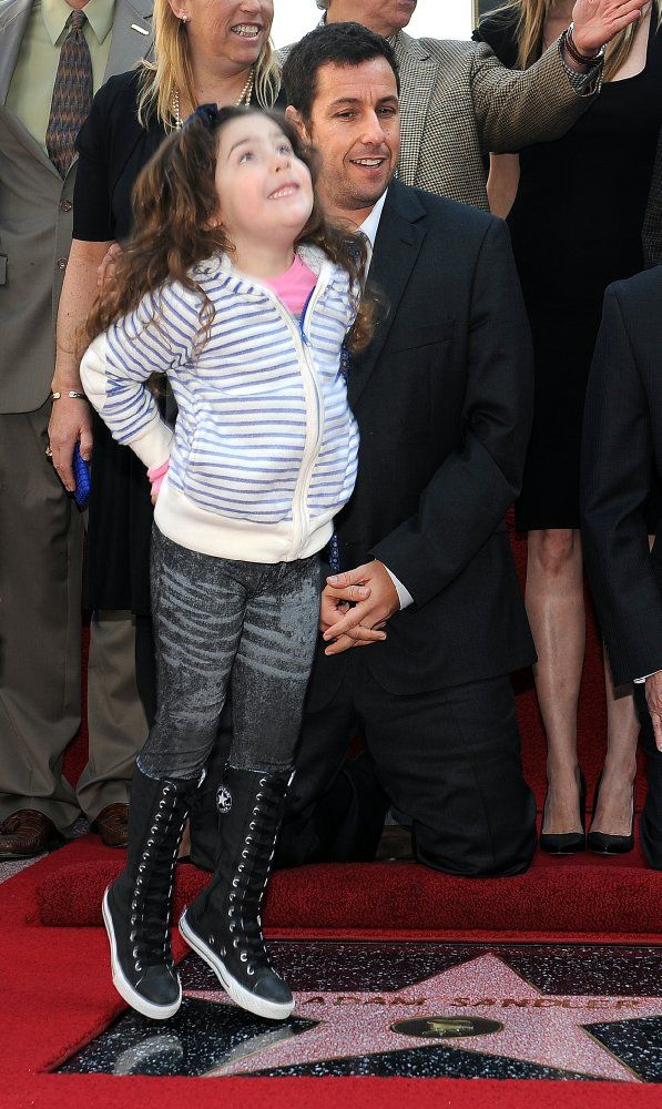 Adam Sandler and Sadie Sandler