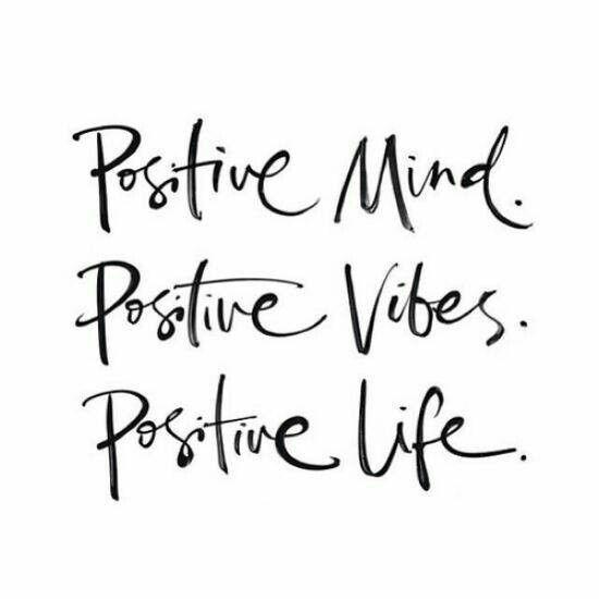 Resultado de imagem para think positive good things come tumblr
