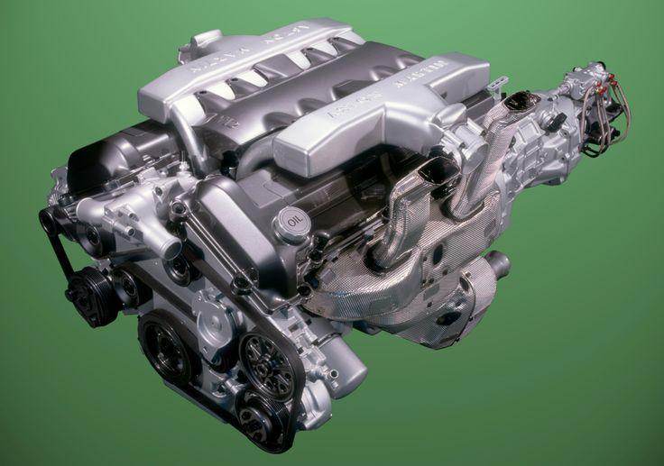 Aston Martin - 2001-2007 Vanquish V-12 engine