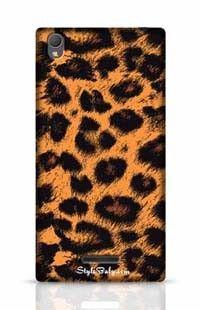 Leopard Skin Sony Xperia T3 Phone Case