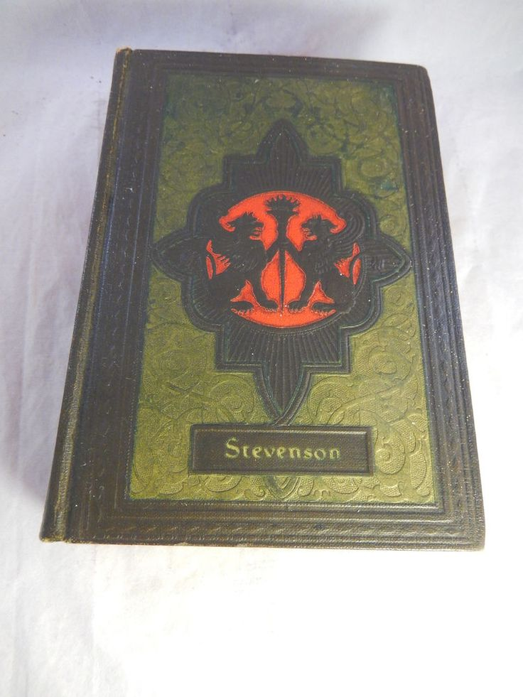 1920s COLLECTED WORKS Of Robert L Stevenson J Black Publisher One Volume Edition