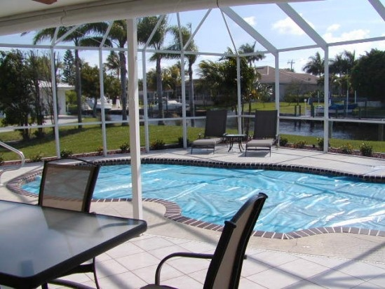 Southern Comforts In Sw Florida Cape Coral Gulf Access 3 Bedroom 2 Bath 2 Car Garage Pool Home Available Short And Long Term Cal Pool Time Cape