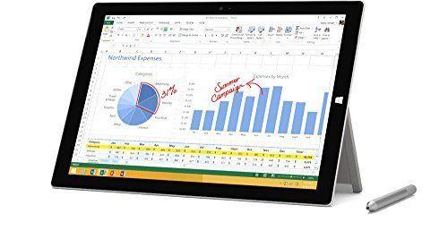 "Microsoft Surface Pro 3 Tablet 12"" 256 GB Intel Core i7 Windows 10 - 5D2-00017 #Microsoft"