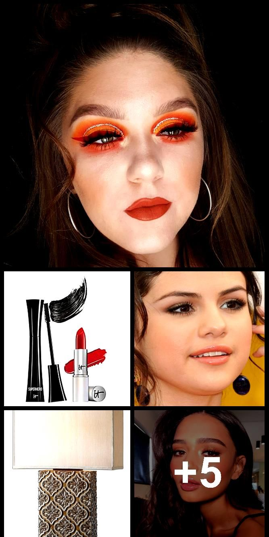 Selena Gomez Makeup Bronze Eyeshadow Peach Lipstick Steal Her Style Bronze Eyeshadow Peach Lipstick Bronze Eyeshadow Selena Gomez Makeup