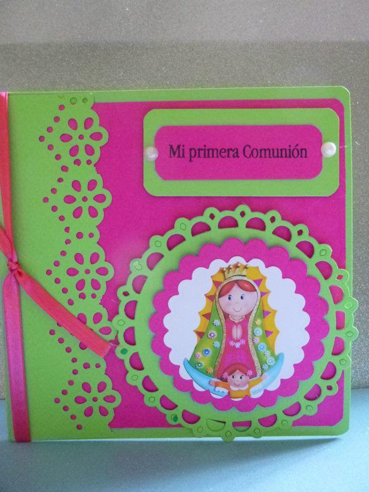 Primera comunion virgencitas distroller y algo m s - Manualidades para primera comunion ...