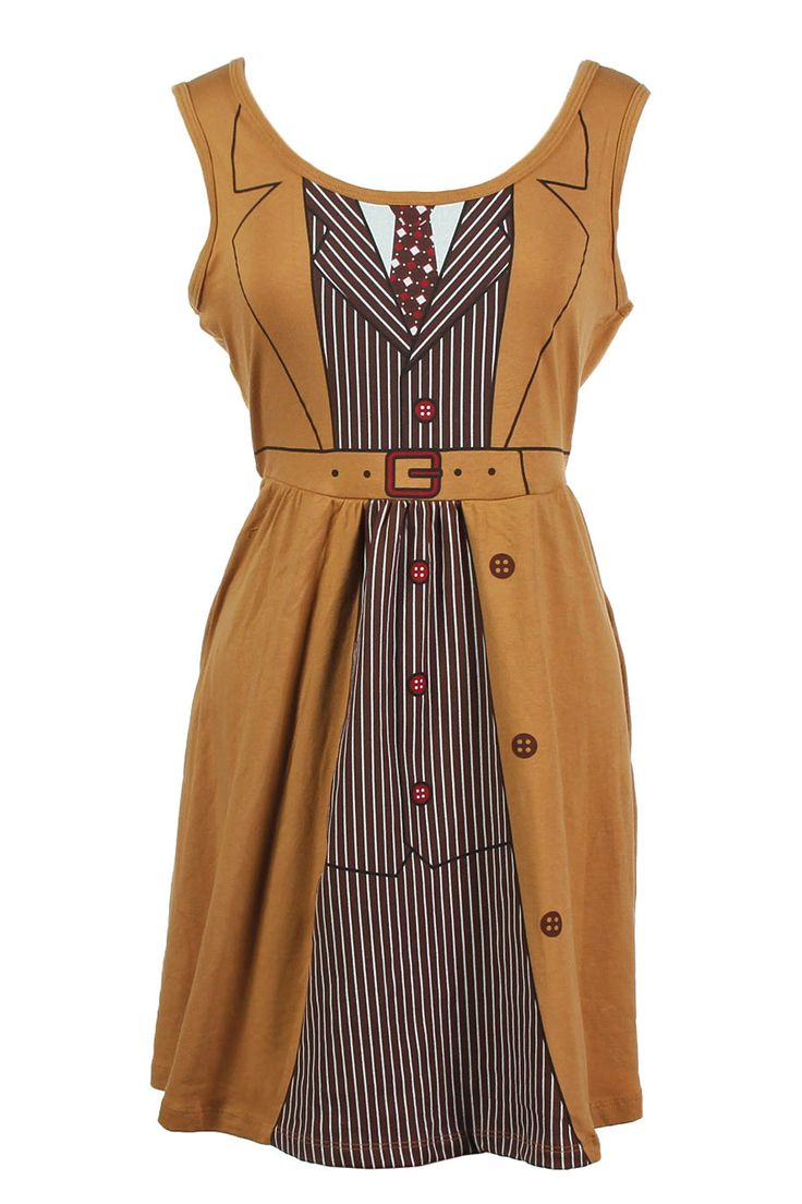 Doctor Who Her Universe David Tennant Tenth Doctor Costume Dress. That's too cool!