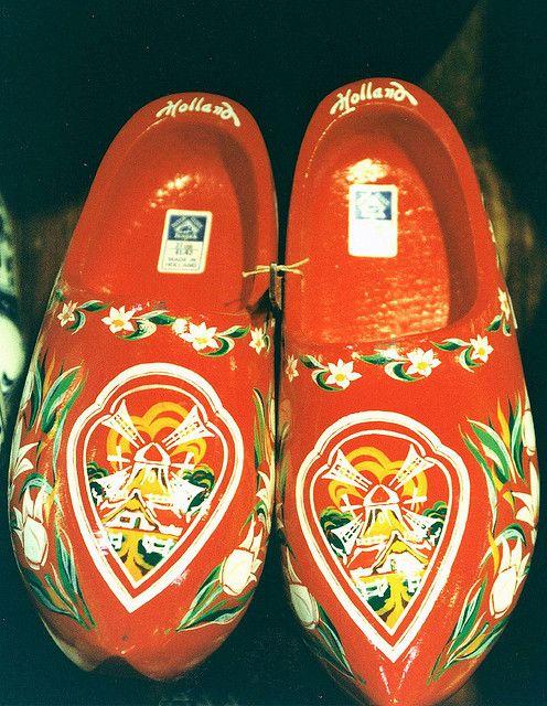 Zaanse Schans - Wooden shoes