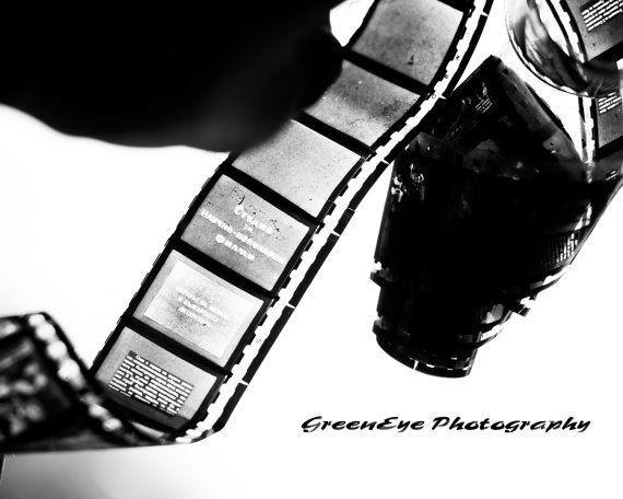 Film Strip BW photography Black and white by GEyesPhotography