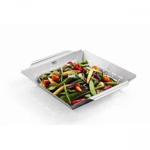 Weber Style Grillbakken er perfekt til grøntsager og fisk - den kan også bruges til at lave kartofler i - Vi har skarpe priser på Weber tilbehør og hurtig levering