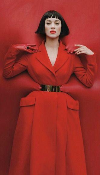 Marion Cotillard - Paris - 2012 - W Magazine - Tim Walker
