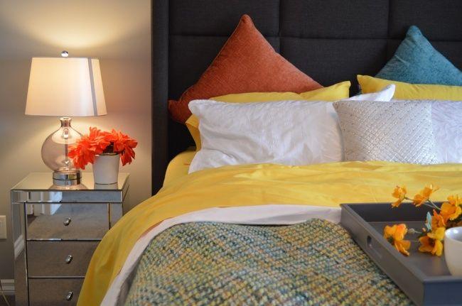 15Ideas dediseño para hacer deundormitorio pequeño unlugar acogedor Ropa de cama acogedor