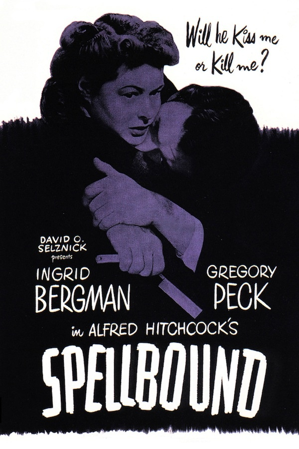 """Spellbound"" (1945) directed by Alfred Hitchcock."