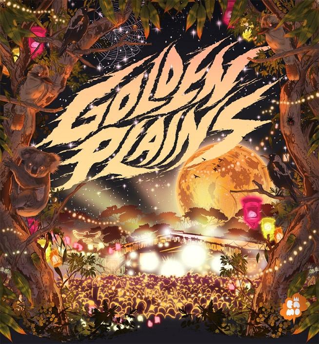Golden Plains Festival in Meredith VIC