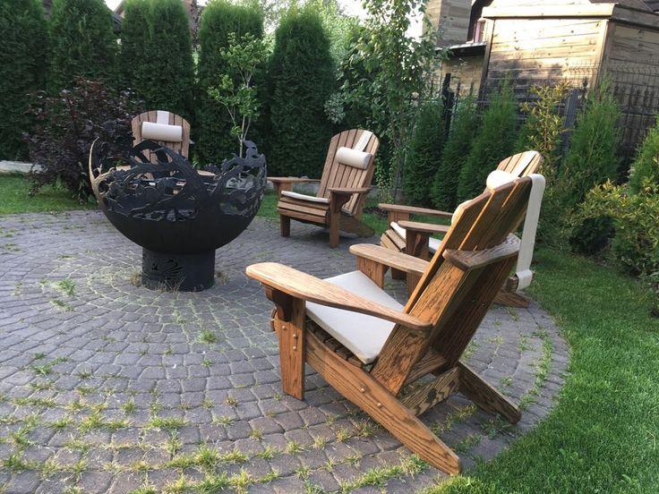 Садовое кресло Адирондак, производства мастерской садовой