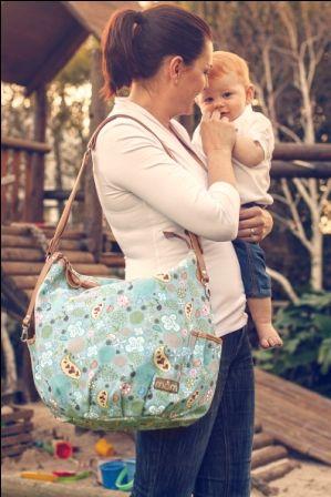 Tweet - Tweet!  Our Momi Baby Bag looks stylish and is very versatile.