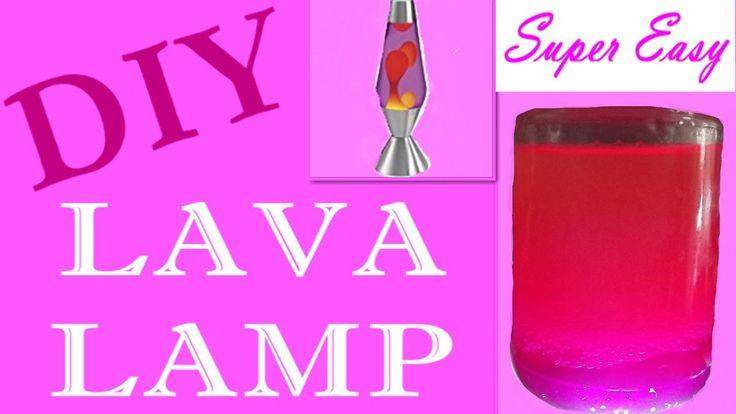 DIY Lava Lamp - Λάμπα Λάβας