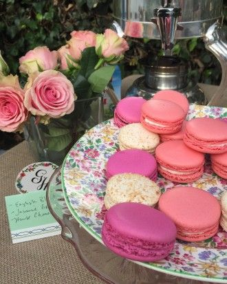 Macarons Aplenty - A Shabby-Chic Backyard Shower for Blogger and Bride-to-Be Geri Hirsch