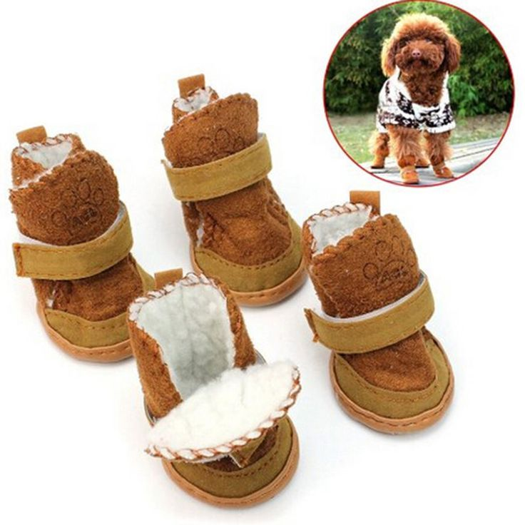 Warm Winter Cozy Pet Dog Chihuahua Boots Puppy Shoes Small Dog SI6 #UnbrandedGeneric