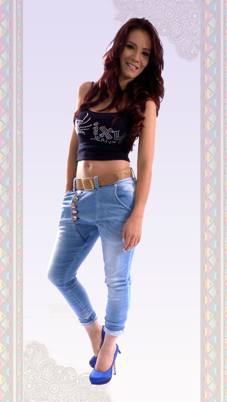 Jeans #colombianos #levantacola. Cute Outfits With jeans. #pushup. #catalogo. #diseños 2015