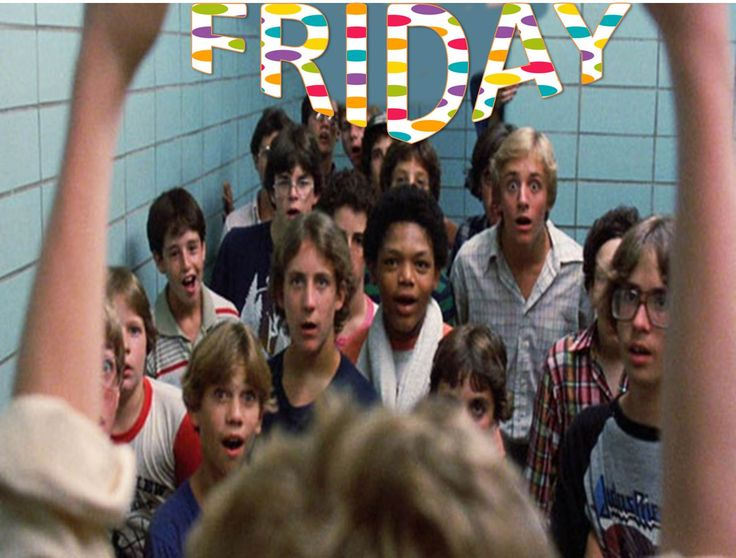 Friday Feeling: Like the first time