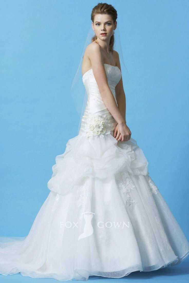 386 best Beautiful Wedding Dresses images on Pinterest | Gown ...