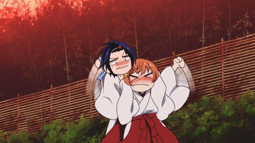 "GIF ""El abrazo purificador"" no funciono. Nisekoi OVA"