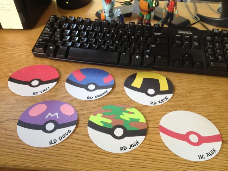 This would be such a cute ideas if I choose to do a Pokémon board