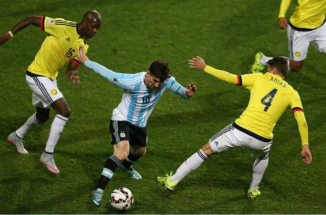 Lionel Messi vs Colombia - Individual Highlights - Argentina vs Colombia 27/06/2015 Quarter Final Copa America 2015