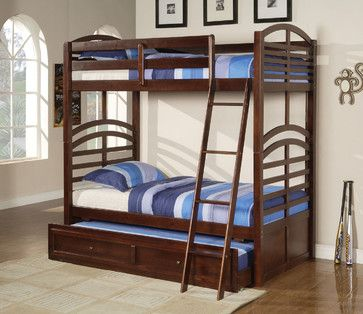17 Best Images About Bunk Beds With Trundle On Pinterest