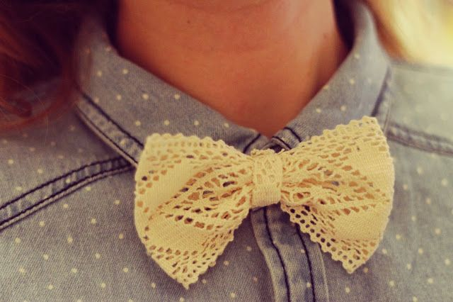 Tiboudnez: ♥ DIY - Un noeud rétro & chic ♥