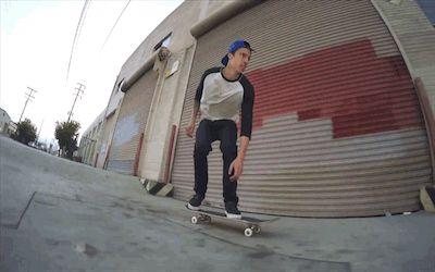 Luan Oliveira fs kickflip shift