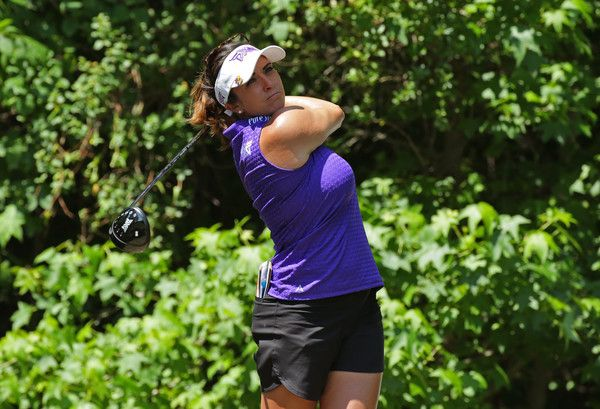 Gerina Piller Photos Photos - Gerina Piller hits her tee shot on the sixth hole during the second round of the Kingsmill Championship presented by JTBC on the River Course at Kingsmill Resort on May 19, 2017 in Williamsburg, Virginia. - Kingsmill Championship - Round Two