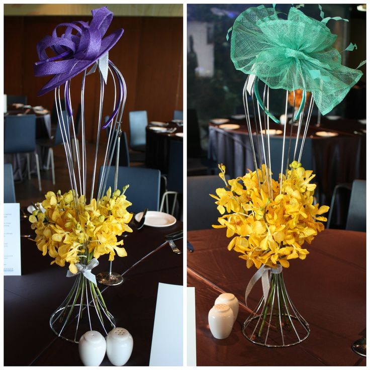 Unique and colorful accessories are always exciting for our clients and guests! #color #unique #centerpieces #eventsyling #eventstyle #event #melbourne #melbourneevents #floral #flowers #yellow #mintgreen #purple #pretty #orchids #yelloworchids #cute www.decorit.com.au (8)