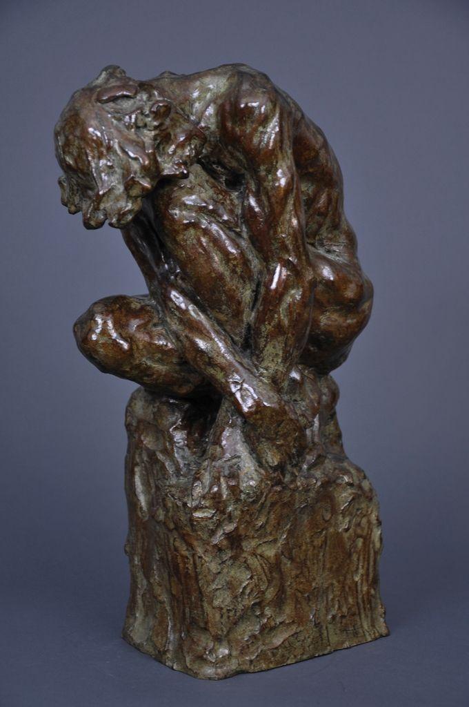 Camille Claudel, L'Homme penché, (v. 1886)