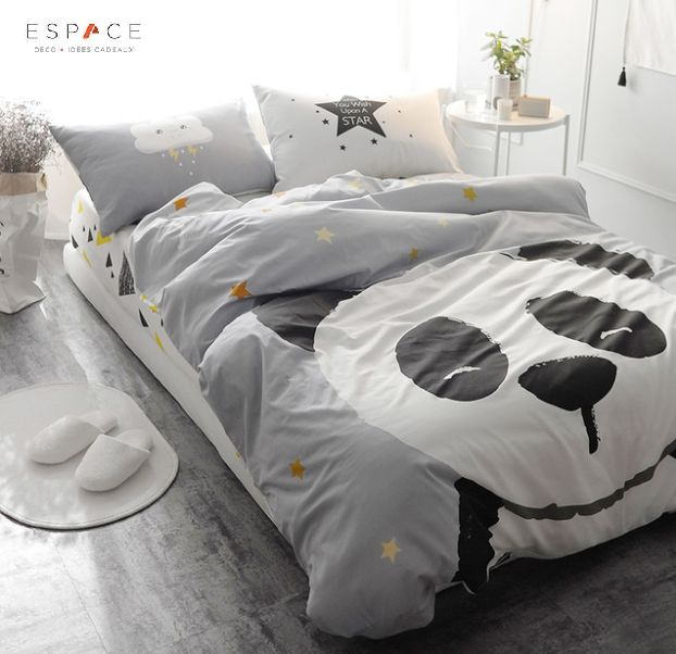 les 25 meilleures id es de la cat gorie couette panda sur. Black Bedroom Furniture Sets. Home Design Ideas