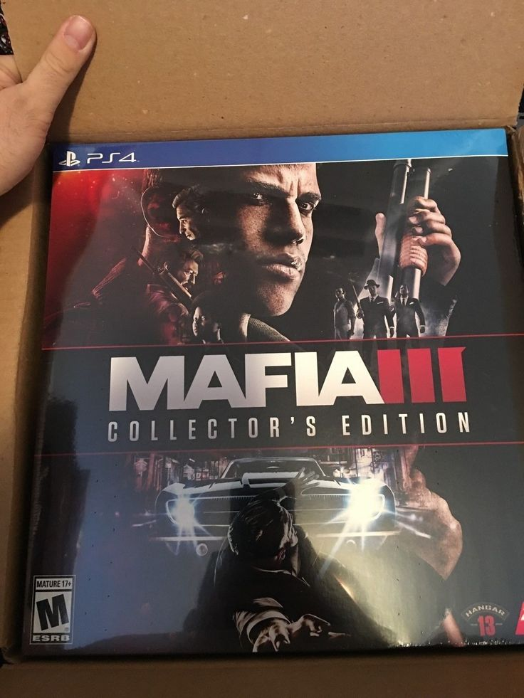 PS4 Mafia III Collectors Edition - PlayStation 4 2K Games Brand New Sealed Sony: $69.99 End Date: Tuesday Mar-20-2018 7:43:32 PDT Buy It…