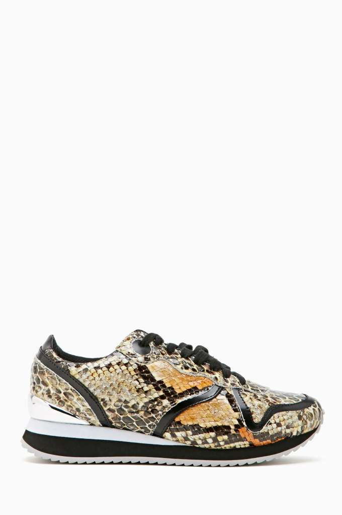 Perfect Jeffrey Campbell Play Dace Leather Fashion Trainers 78hJ7140r43