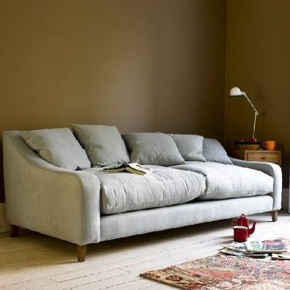 Large Oscar - Gorgeous Upholstered Sofas Online Oscar in thatch house fabric - Sofas | The Sleep Room