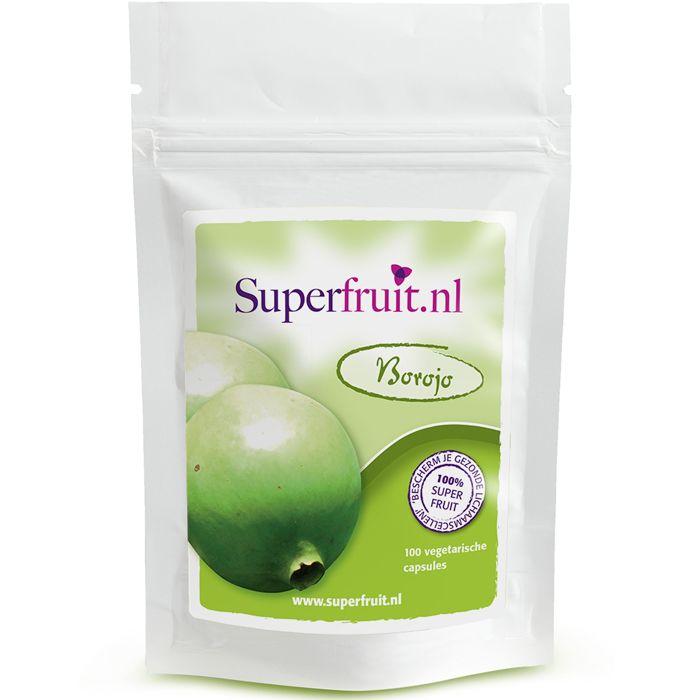 #Borojo is rijk aan vitamines, mineralen, aminozuren en antioxidanten. Het bevat vitamine C, calcium, fosfor, silicium, ijzer en proteïne. Borojo komt uit het regenwoud van Colombia. Men noemt borojo wel het 'Colombiaanse Maca' en is populair bij mannen en vrouwen omdat borojo het libido zou ondersteunen. De capsules van Superfruit.nl passen in een vegetarisch voedingspatroon. Prijs per 100 capsules: €19,95. Superfruit.nl is onderdeel van #Healthy Vitamins.
