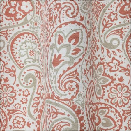 Better Homes and Gardens Scalloped Paisley Curtain Panel