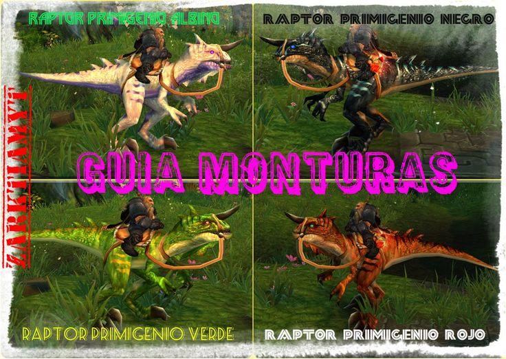 World of Warcraft | Guía Monturas | Isla de los Gigantes | Raptor Primig...